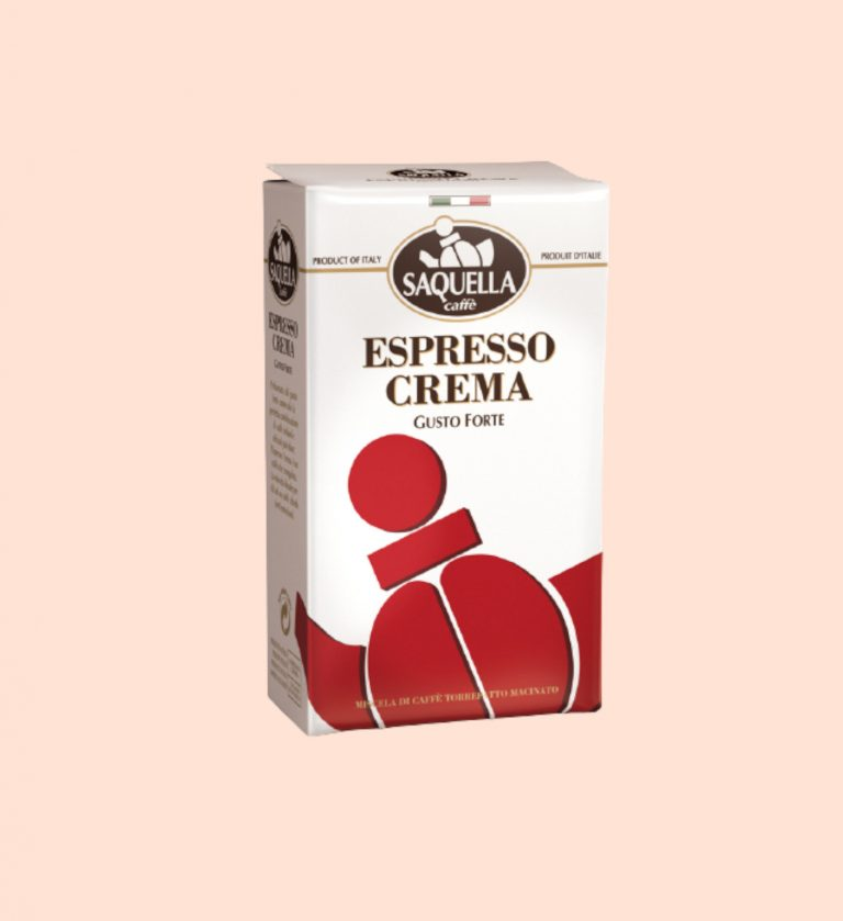 Saquella Espresso Crema gemahlen 250g